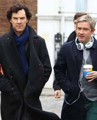 Benedict Cumberbatch On 'Sherlock' Set