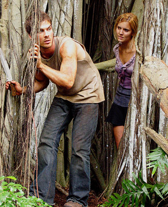 Maggie Grace And Ian Somerhalder On 'Lost'