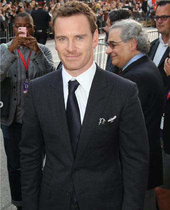 Michael Fassbender At '12 Years A Slave' Premiere