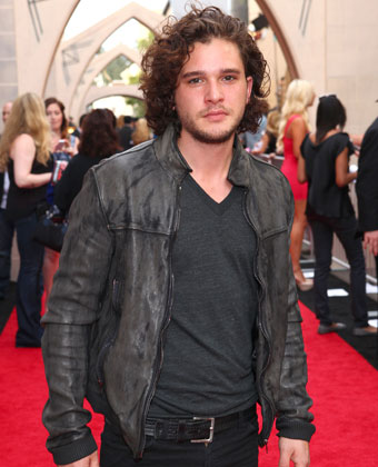 Kit Harington Attends 'Guys Choice Awards'