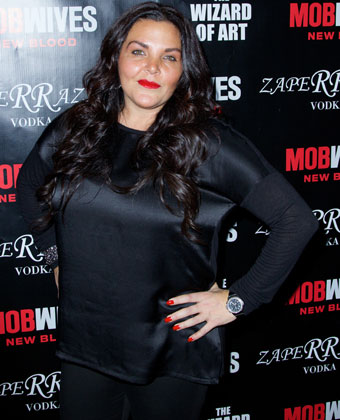 Jennifer Graziano Attends 'Mob Wives: New Blood' Launch