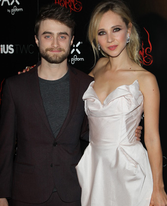 Juno Temple with Daniel Radcliffe
