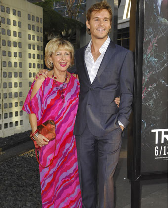 Ryan Kwanten And Mother Attend True Blood Premiere