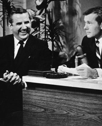 Ed McMahon And Johnny Carson
