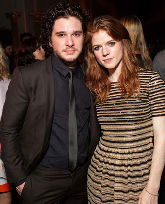 Kit Harington With Rose Leslie