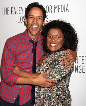 Yvette Nicole Brown and Danny Pudi