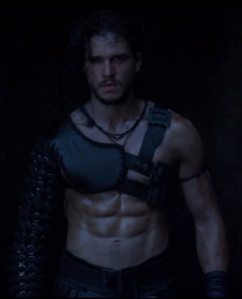 Kit Harington Is Ab-Tastic In 'Pompeii'