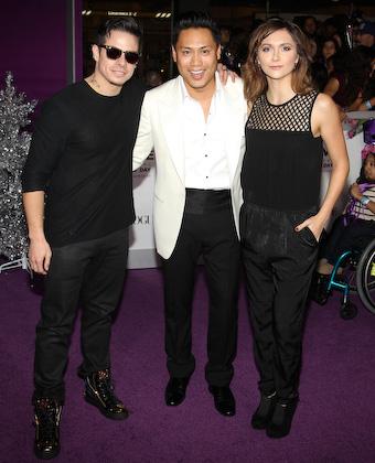 Jon Chu With Alyson Stoner And Casper Smart