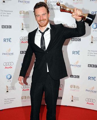 Michael Fassbender At  Irish Film And Television Awards