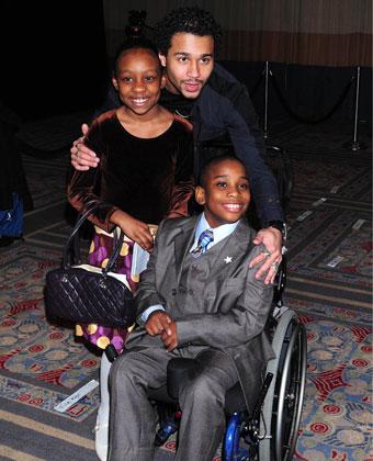 Corbin Bleu And The Starlight Foundation