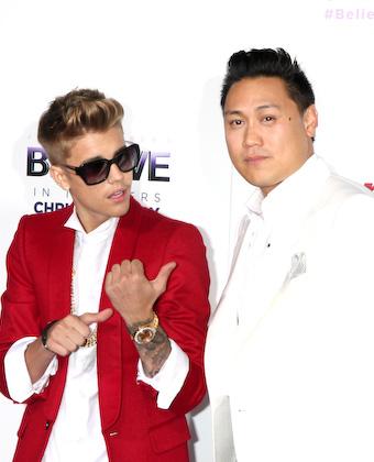 Jon Chu And Justin Bieber