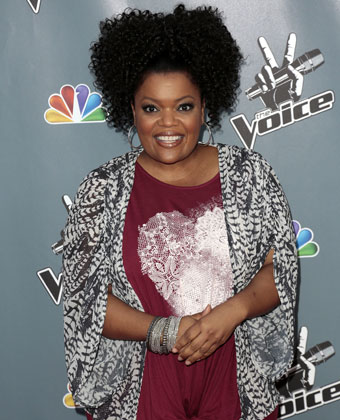 Yvette Nicole Brown at The Voice