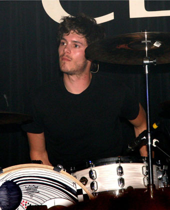 Adam Brody Drums For Big Japan