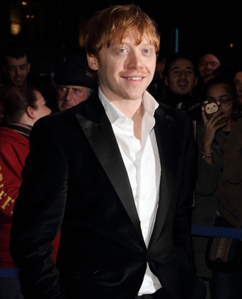 Rupert Grint At WhatsOnStage Awards