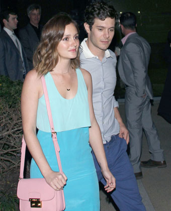 Adam Brody And Leighton Meester Go Out