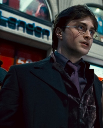 Daniel Radcliffe in Harry Potter 5