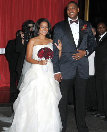 La La Anthony And Carmelo Anthony's Wedding