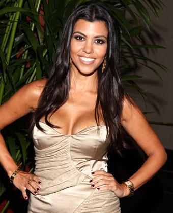 Kourtney Kardashian Attends The TCA Cocktail Party