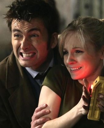 David Tennant In 'The Doctor's Daughter'