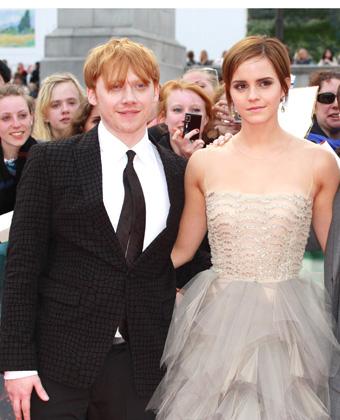 Rupert Grint With Emma Watson