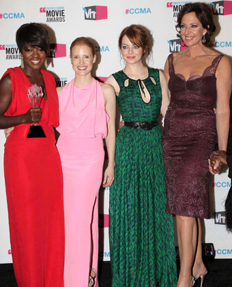 Jessica Chastain And 'The Help' Cast