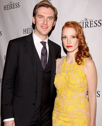 Jessica Chastain And Dan Stevens At 'The Heiress' Opening Night After Party