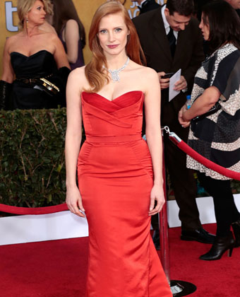 Jessica Chastain Attends Screen Actors Guild Awards