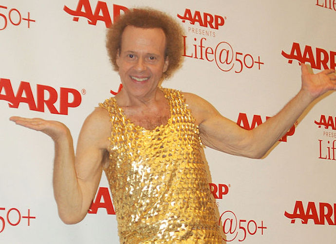 "Richard Simmons Hospitalized For ""Severe Indigestion"""