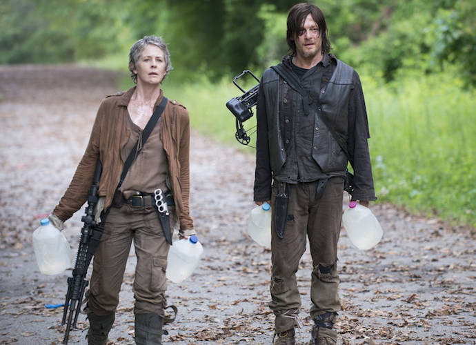'The Walking Dead' Recap: Two Die In Scavenging Mission, Father Gabriel Warns Deanna Of Rick's Group