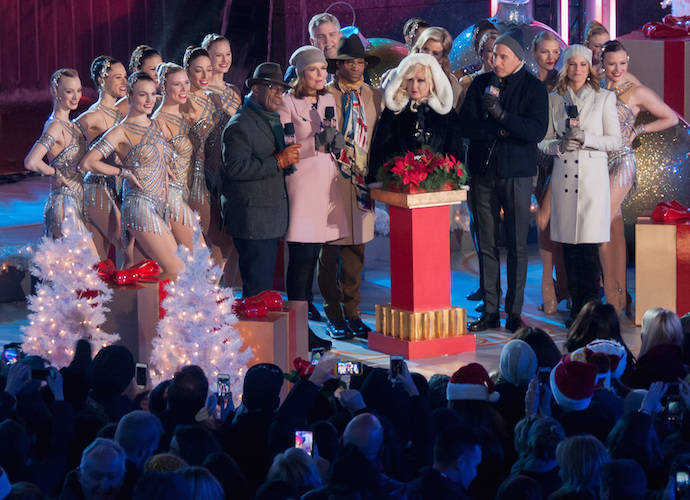 Annual Rockefeller Center Christmas Tree Lighting Included Performances By  Mariah Carey, Lady Gaga, Cyndi - Annual Rockefeller Center Christmas Tree Lighting Included