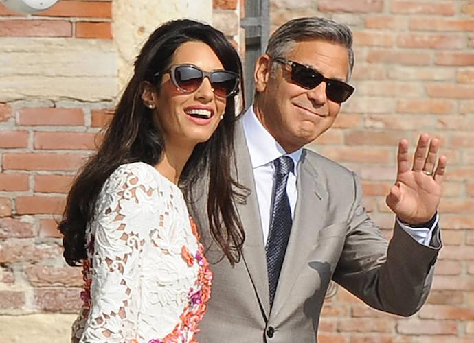 George & Amal Clooney Welcome Twins Ella & Alexander