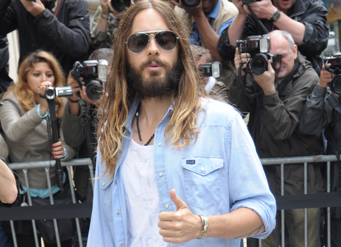 Jared Leto Cuts Off His Ponytail In Preparation For Filming 'Suicide Squad'