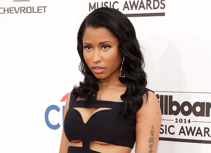 Nicki Minaj Suffers A Nip Slip – Again