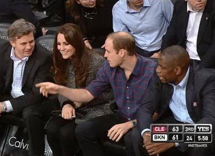 Prince William And Kate Middleton Attend NBA Game; Meet Jay Z, Beyoncé & LeBron James