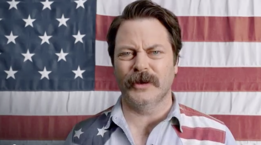 Nick Offerman Tells America To Toughen Up With NASCAR In Funny Commercial
