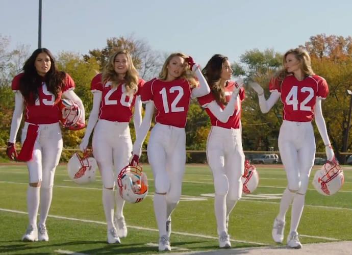 Victoria's Secret Angels Tease Super Bowl Ad