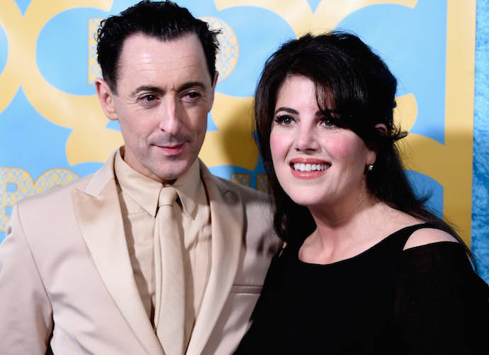 Alan Cumming Took Monica Lewinsky As His Date To A Golden Globes After Party