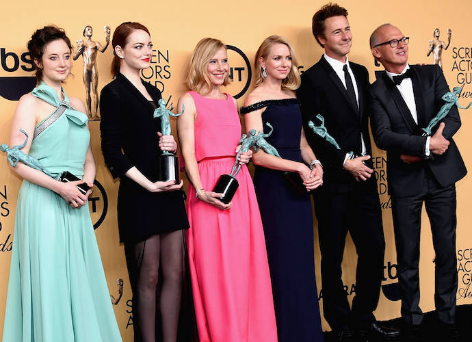 SAG Awards 2015: Birdman Takes Top Honor, 'Orange Is The New Black' Recognized