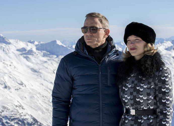 Daniel Craig And Lea Seydoux Pose For Spectre Photocall