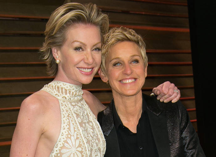 Ellen DeGeneres Gives Update After Wife, Portia De Rossi, Is Rushed To Hospital With Appendicitis
