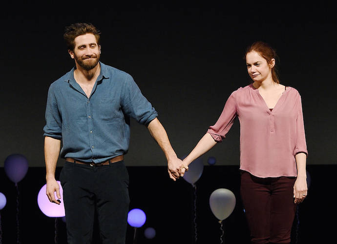 Jake Gyllenhaal Takes A Bow At 'Constellations' Broadway Premiere With Costar And Rumored Girlfriend Ruth Wilson