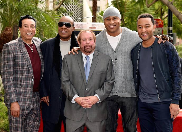 Smokey Robinson, Stevie Wonder, LL Cool J, John Legend & More Turn For Ken Ehrlich's Hollywood Walk Of Fame Star Presentation