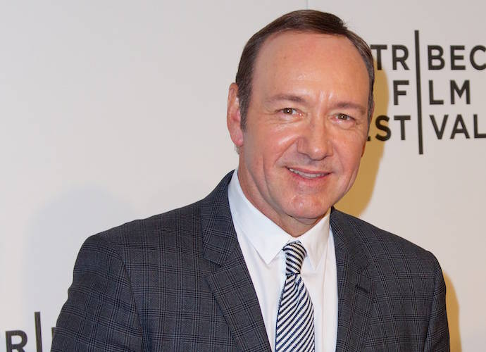 Kevin Spacey Wins His First Golden Globe, Drops F-Bomb