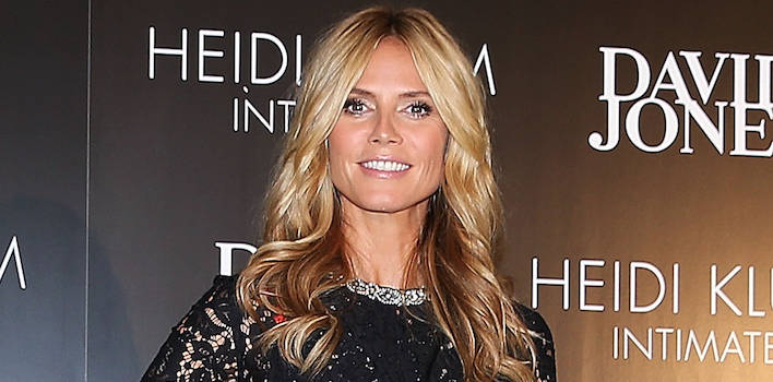Heidi Klum Looks Hospital Chic In the ER After Stepping On Rusty Nail