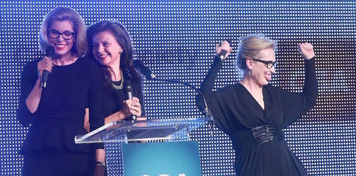 Meryl Streep, Christine Baranski & Tracey Ullman Team Up To Present Award To Director Rob Marshall