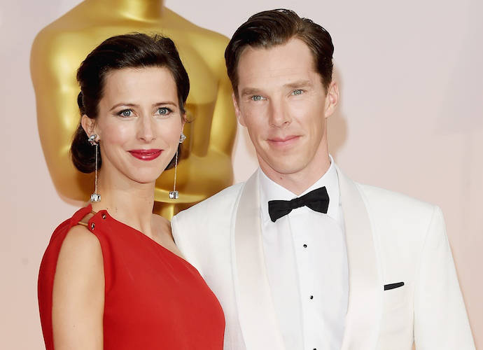Benedict Cumberbatch And Wife Sophie Hunter Walk Red Carpet As Newlyweds