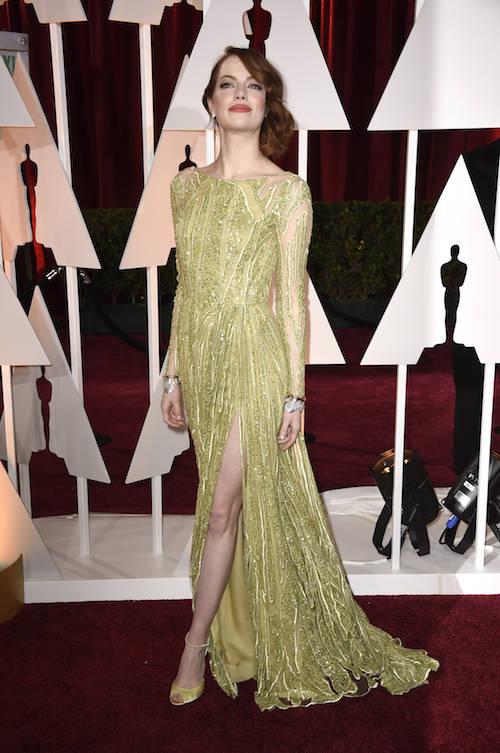 Chartreuse Dress