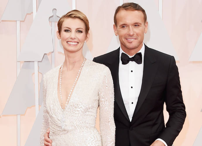 Faith Hill And Tim McGraw Are Adorable On The Oscars Red Carpet
