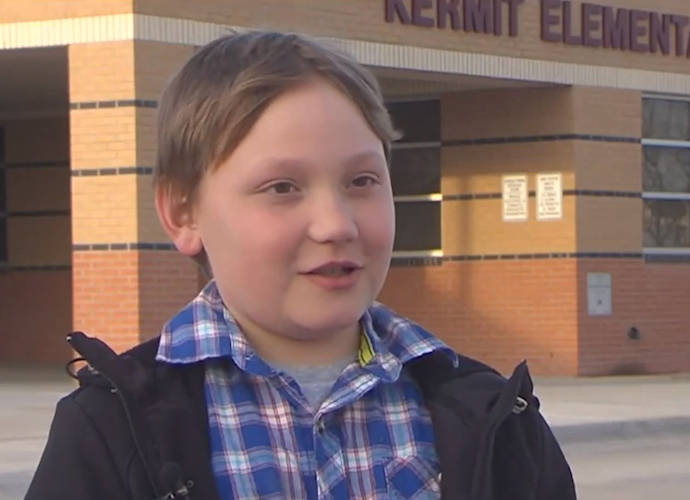 "Aiden Steward, 9, Suspended From School After Playing With ""The One Ring"""