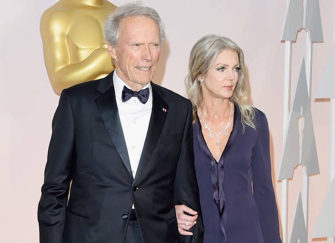 Clint Eastwood And Girlfriend Christina Sandera Made Their Red Carpet Debut At The Oscars